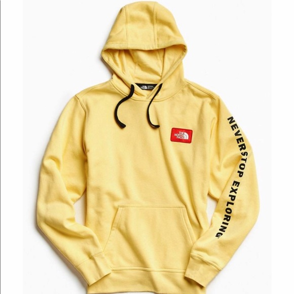 """c48369f89 North Face """"Never Stop Exploring"""" Hoodie"""